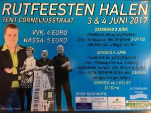 Rutfeesten Halen @ feesttent